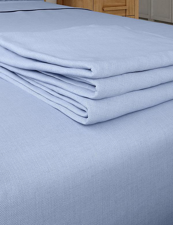 Cotton Rich Percale Flat Sheet
