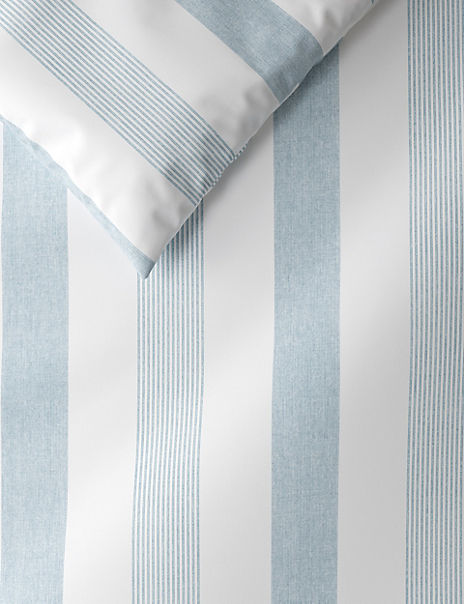 Hadley Striped Cotton Bedding Set