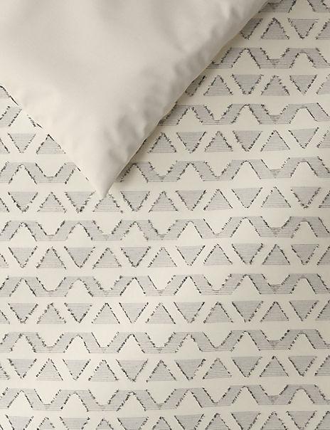 Pure Cotton Textured Bedding Set