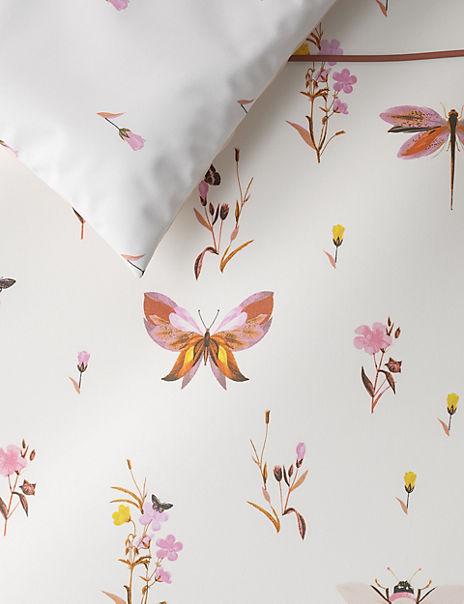 Bug Print Bedding Set