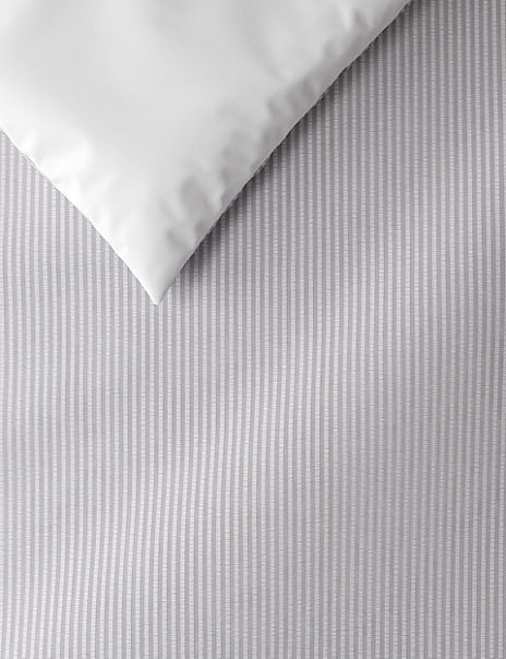 Micro Striped Seersucker Cotton Bedding Set