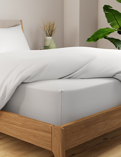 Pure Egyptian Cotton 400 Thread Count Extra Deep Ed Sheet