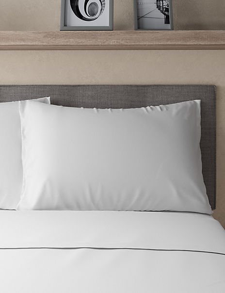 Pure Cotton Percale 300 Thread Count Pillowcase