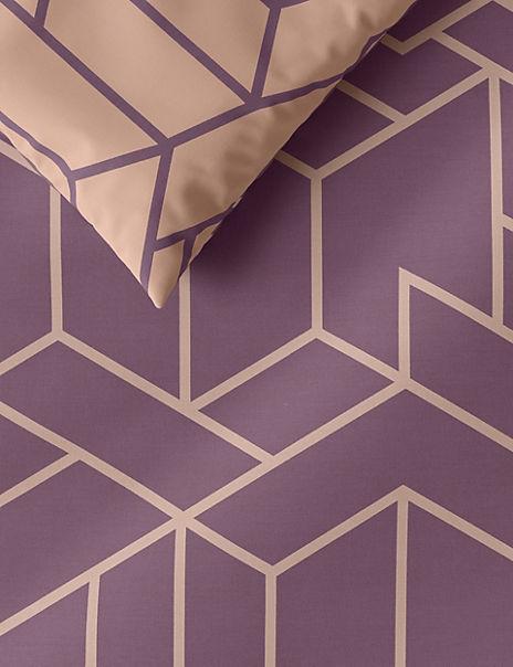 Geometric Print Bedding Set
