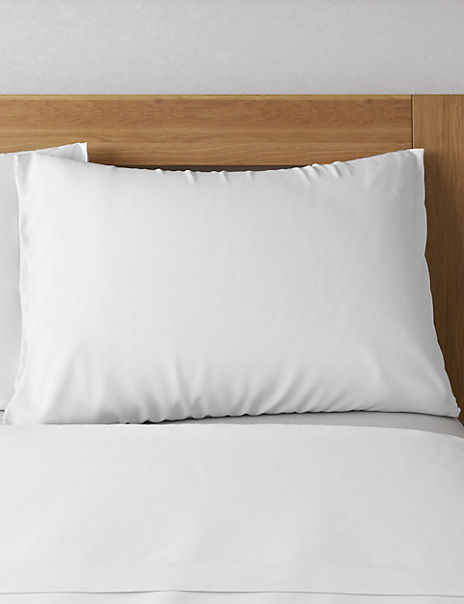 2 Pack Antibacterial Bamboo Cotton Pillowcases