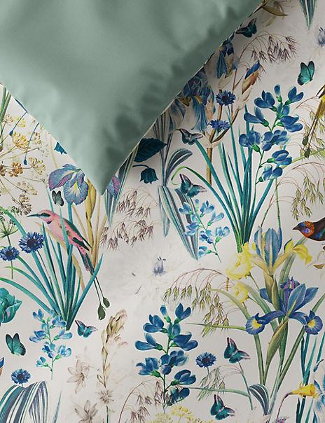 Pure Cotton Sateen Harriet Printed Bedding Set