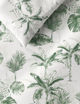 Cotton Mix Palm Bedding Set