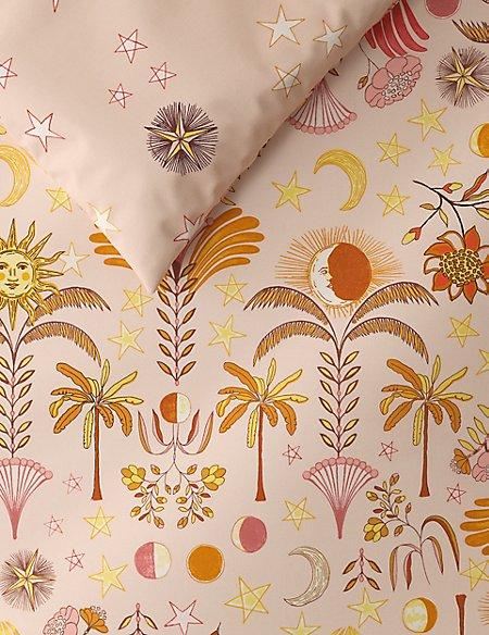 Sun & Moon Printed Bedding Set
