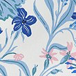 Daisy Floral Print Bedding Set, BLUE, swatch