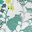 Daisy Floral Print Bedding Set, GREEN MIX, swatch