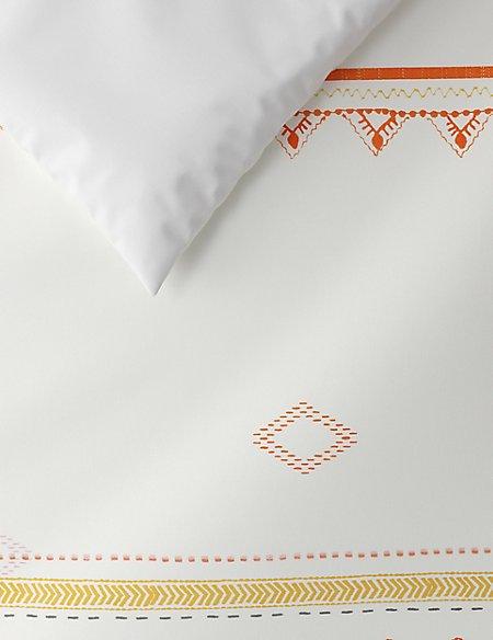 Decorative Aztec Printed Bedding Set