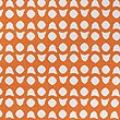 Hardy Simple Geometric Print Bedding Set, BURNT ORANGE, swatch