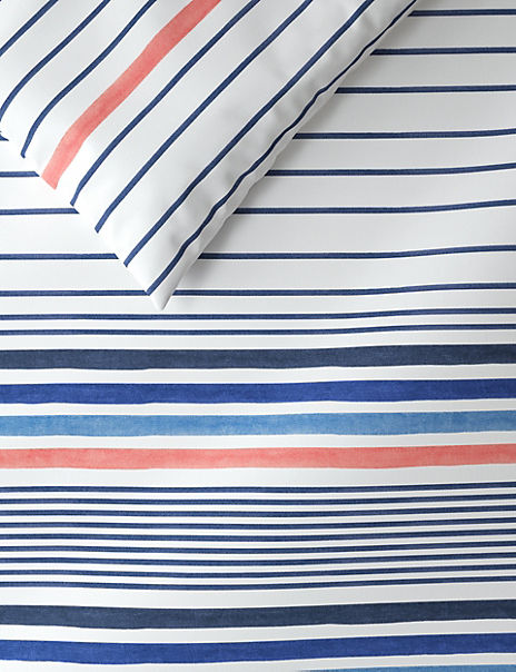 Painterly Stripe Bedding Set