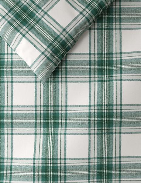 Austin Check Brushed Cotton Bedding Set