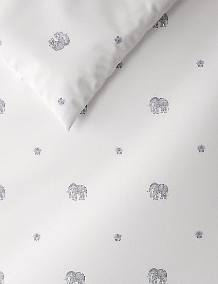 Elephant Print Bedding Set