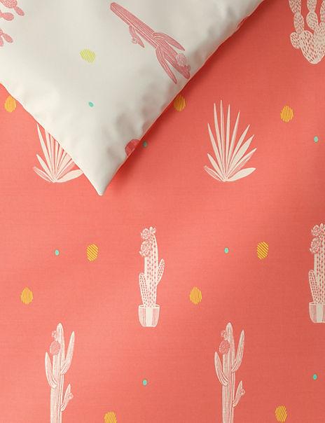 Cactus Printed Bedding Set
