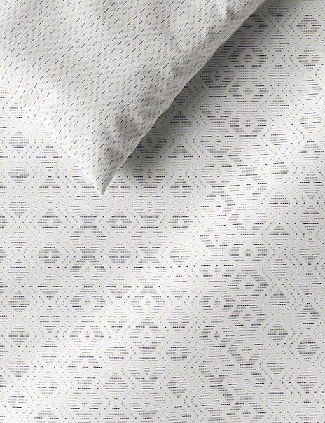 Stitch Print Cotton Bedding Set