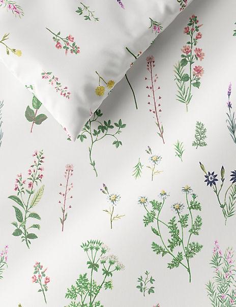 Spring Floral Cotton Bedding Set