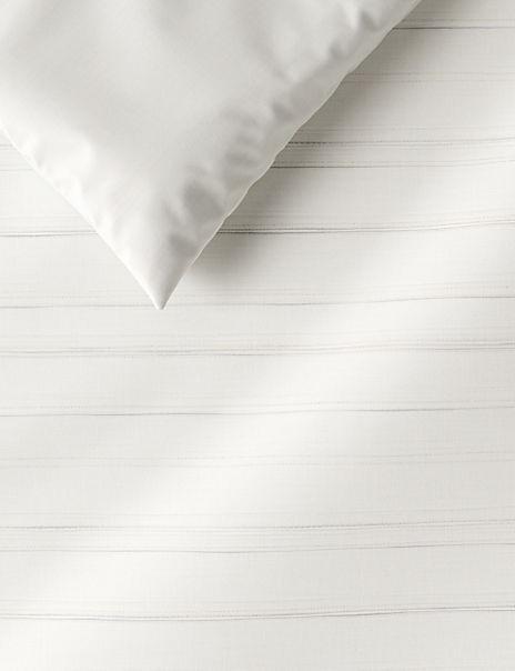 Metallic Stripe Cotton Bedding Set