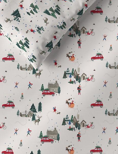 Christmas Eve Bedding Set
