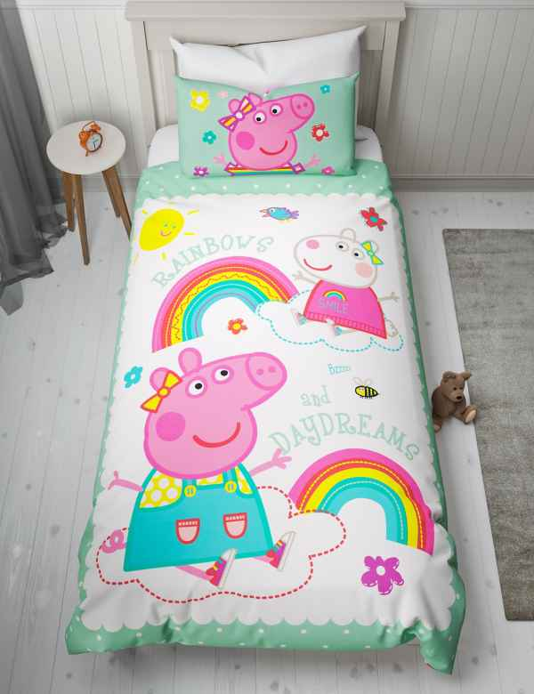 Peppa Pig Trade Patterned Bedding Duvet Covers Bed Sets M S