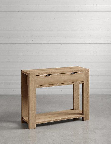 arlo console table m s. Black Bedroom Furniture Sets. Home Design Ideas