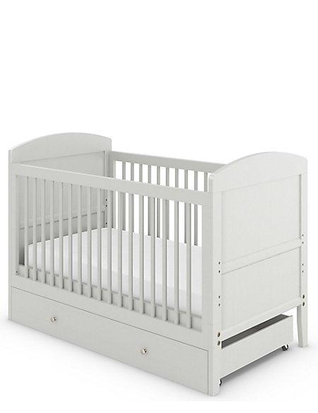Hastings Kids Grey Cot Bed