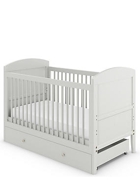 Hastings Kids Grey Cot Bed