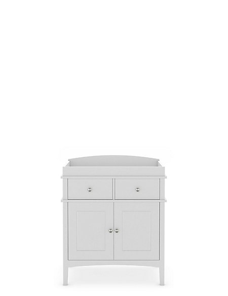 Hastings Kids Grey Changing Table