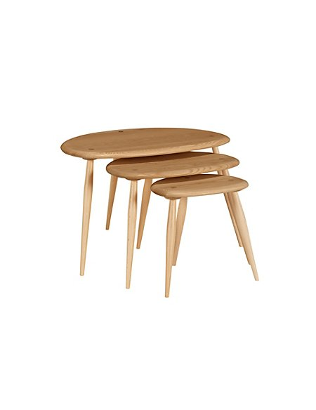 Marks And Spencer Ercol Kimble Nest Tables: Ercol Kimble Nest Tables