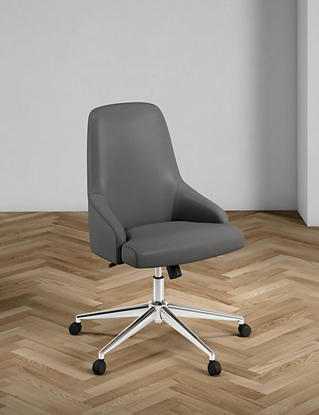 Jones Faux Leather Office Chair