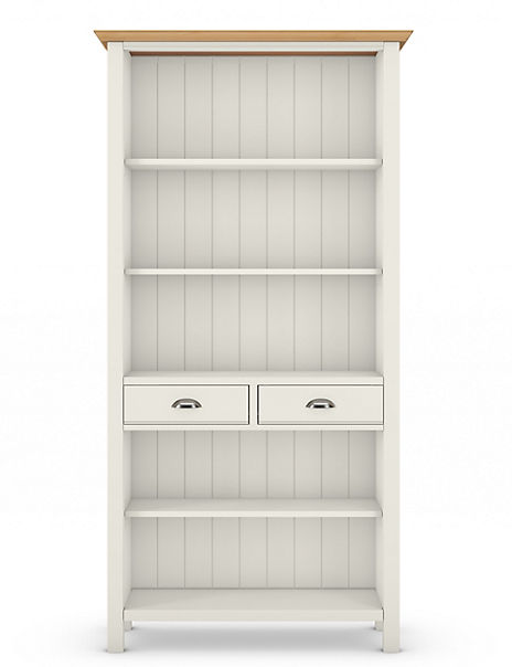 Padstow Ivory Bookcase