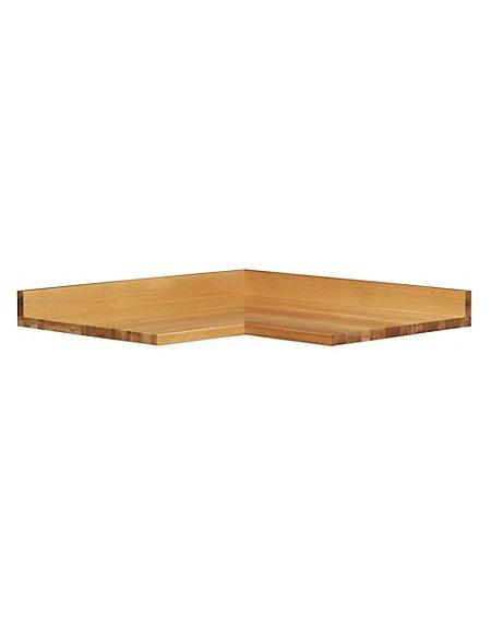 Corner Unit Oak Worktop