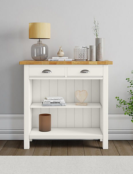 Padstow Ivory Console