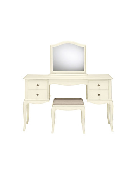 Dressing Table With Mirror And Stool: Marie Dressing Table, Mirror & Stool Set