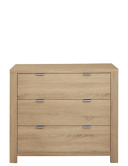 Arlo Natural 3 Drawer Chest