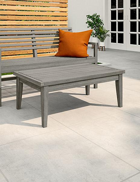 Melrose Grey Garden Coffee Table