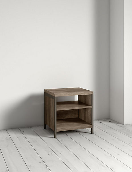 Baltimore Grey Side Table