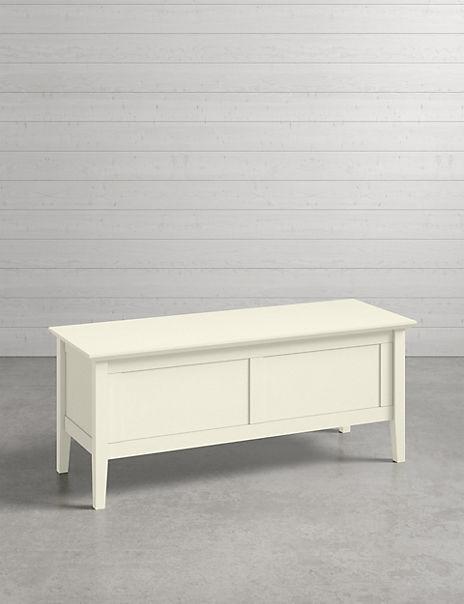 Hastings Ivory Blanket Box
