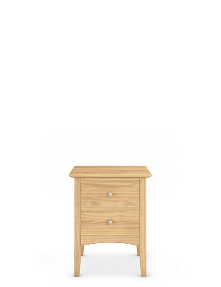 Hastings Light Natural Bedside Chest
