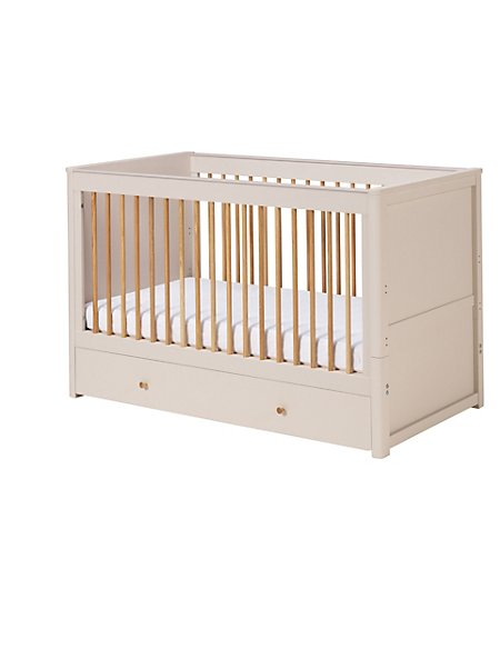 Winchester Cot Bed - Putty