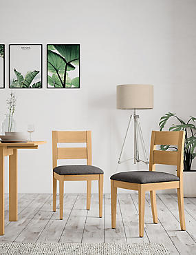 Set of 2 Stockholm Chairs Grey