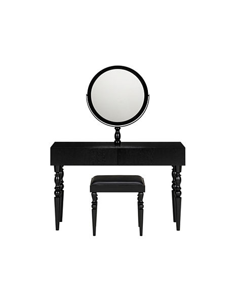 Marcel Mona Dressing Table, Mirror & Stool Set
