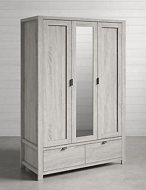 Arlo Triple Wardrobe