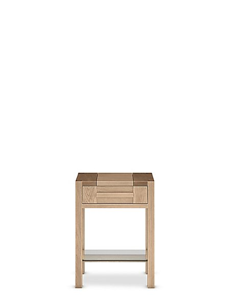 Sonoma™ Blonde Storage Side Table