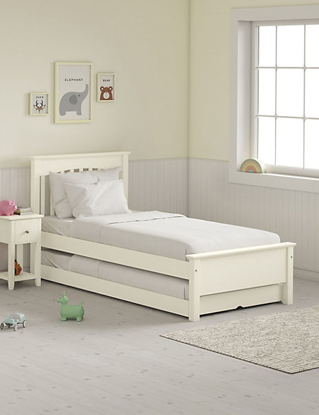 Hastings Children's Ivory Guest Bed