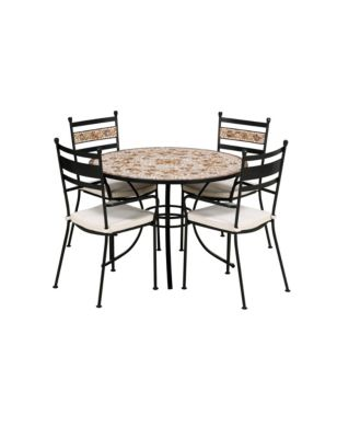 verona dining table 4 chairs m s. Black Bedroom Furniture Sets. Home Design Ideas