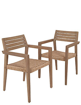 Set of 2 Tuscany Dining Chairs