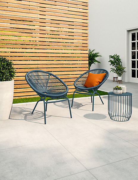 Lois Set of 2 Garden Chairs