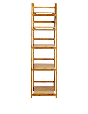 Nagoya Folding Shelving High Natural